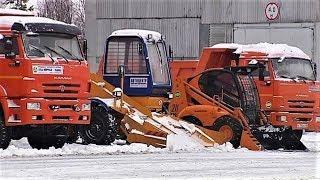 Коммунальщики Когалыма получили новую снегоуборочную технику
