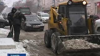 В первый день весны на ростовские улицы вывели более 160 единиц техники
