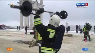 Волгоградские спасатели провели флешмоб «Хоровод безопасности»