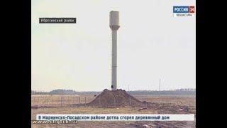 В деревне Малый Кукшум Ибресинского района завершается строительство водопровода