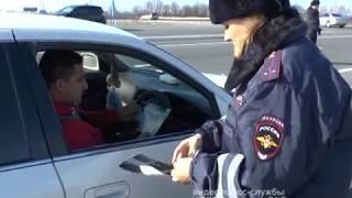 """Полицейские рассказали автомобилистам ЕАО, что их """"Дома ждут""""(РИА Биробиджан)"""