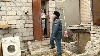 Волгоградские спасатели проводят противопожарные рейды