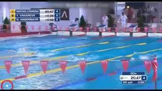Ярославская спортсменка установила рекорд на Чемпионате мира по плаванию в ластах
