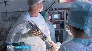 Жителей Башкирии оперирует робот «Да Винчи»