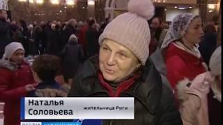 Как в Калининграде встречали раку с мощами Луки