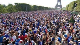 Париж затаил дыханье