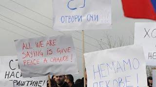 """Сербы против косовских пошлин: """"ЕС, открой глаза!"""""""