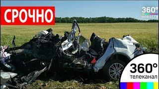 ДТП на трассе Дон в Ростовской области: погибли пять человек, из них трое детей