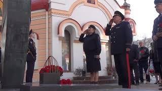 В память погибших при исполнении