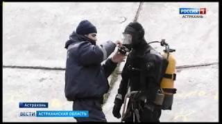 К началу паводка в Астрахани проверят насосные станции