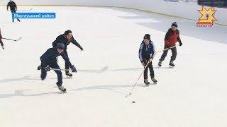 Новый ледовый объект появился в селе Юнга Моргаушского района.