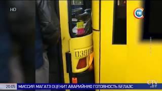 Тройное ДТП на Кальварийской: столкнулись два автобуса и троллейбус