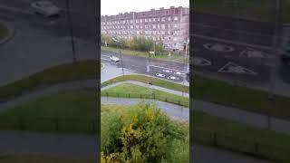 Снег в Уренгое.  ДТП.  09.09.18