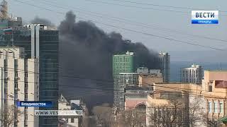 """Строители ЖК """"Маринист"""" отрицают, что на стройке был пожар. 1"""