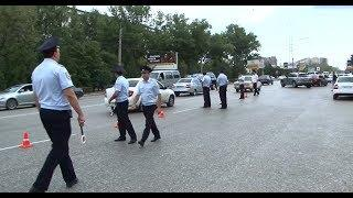 Сотрудники ДПС провели рейд на улицах Махачкалы
