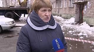 Коммунальные службы в Ярославле ведут активную работу по очистке кровель от снега и сосулек