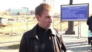 Министр по развитию ДВ на  реконструкции набережной в Благовещенске