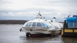 В Югре закрывается навигация - сегодня последний рейс в Ханты-Мансийском районе
