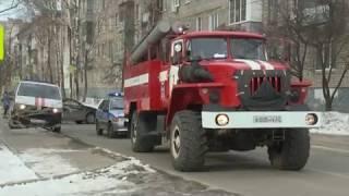 Пожар в Рязани