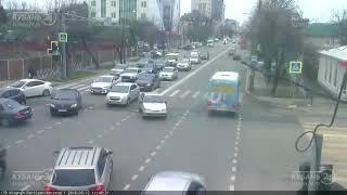 ДТП на ул. Красных Партизан и ул. Герцена 12.03.2018