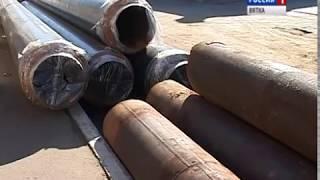 Масштабные работы по ремонту теплосетей продолжаются(ГТРК Вятка)