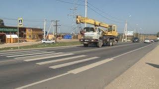 Сюжет ТСН24 Туляки борются за установку светофора на пешеходном переходе после ДТП с пенсионеркой