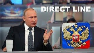 Putin's Annual Direct Line 2018 (Q&A)