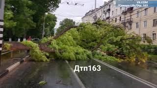 Последствия урагана ликвидируют в Самарской области