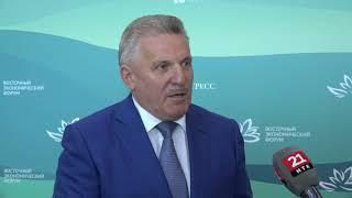 Губернатор Хабаровского края о значении контракта на 100 суперджетов ВЭФ 11 сентября 2018