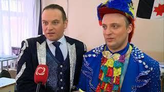 18 03 2018 Артисты Московского цирка Никулина проголосовали в Ижевске