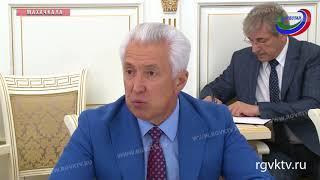 Врио главы Дагестана встретился с заместителем руководителя ФАС России