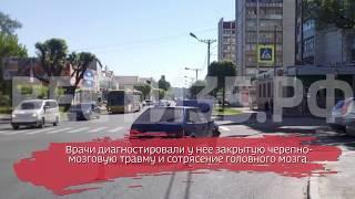 В Череповце в ДТП пострадала пассажирка иномарки