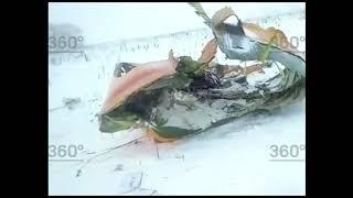 Опубликовано видео с места крушения Ан 148
