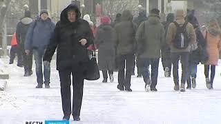 Зима пришла в Иркутскую область на неделю раньше календарного срока