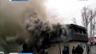 В посёлке Филимоново сгорел магазин