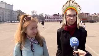 На Театральной площади 48 лет назад появился памятник Владимиру Ленину