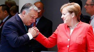Меркель-Орбан: спор о гуманности