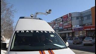 В торговом центре Ханты-Мансийска из-за учебного пожара эвакуировали людей