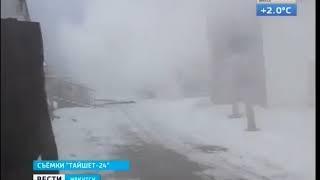 Пожар в Тайшете  Сгорели склады магазинов «Посуда Центр» и «Дети»