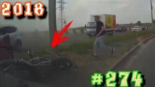Дураки и дороги Подборка ДТП 2018 Сборник безумных водителей # 274