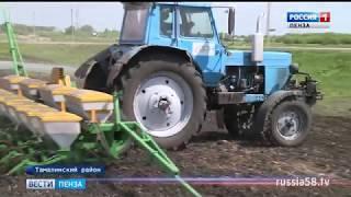 В Пензенской области завершается весенний сев