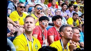 В Нижнем Новгороде прошел матч Швеция — Южная Корея