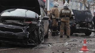 Керчь: по улице Генерала Петрова снова ДТП: пострадали дети
