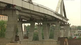 Надвижку пролета Фрунзенского моста в Самаре планируют завершить к сентябрю