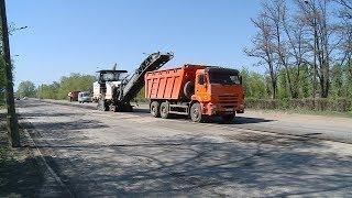 В Волжском начался ремонт двух крупных дорожных объектов
