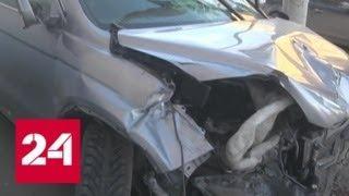 В Екатеринбурге внедорожник сбил на тротуаре трех человек - Россия 24