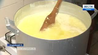 Фермер под Уссурийском мечтает напоить молоком все Приморье