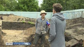 Студенты Школы телевидения ГТРК «Вологда» побывали на археологических раскопках