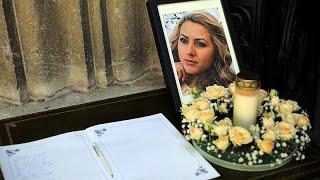 Похоронили Викторию Маринову