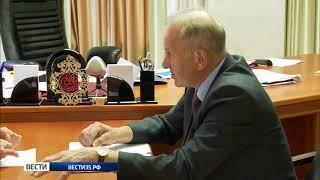 Развитие Вашкинского района обсуждали в Вологде